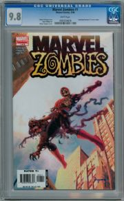 Marvel Zombies #1 1st Print 2006 CGC 9.8 Robert Kirkman Marvel comic book
